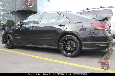 18x8.0 Lenso Spec B MB on TOYOTA AURION