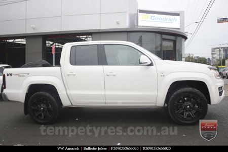 20x9.0 Ballistic Joker FB on VW AMAROK