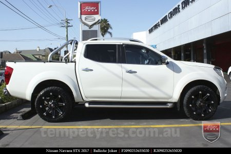 20x9.0 Ballistic Joker FB on NISSAN NAVARA