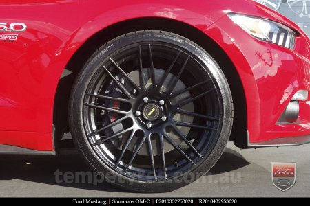 20x8.5 20x10 Simmons OM-C FB on FORD MUSTANG