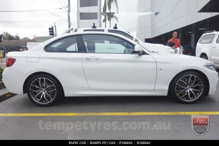 18x8.0 BM091 FP/GM on BMW 220l