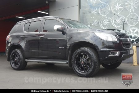 18x9.0 Ballistic Morax on HOLDEN COLORADO 7