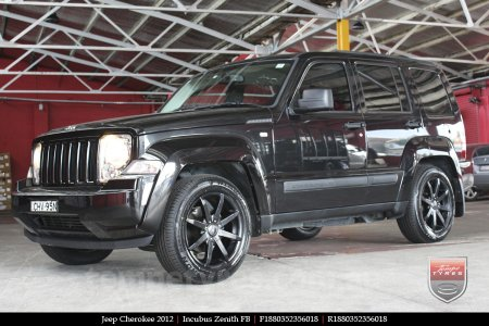 18x8.0 Incubus Zenith - FB on JEEP CHEROKEE