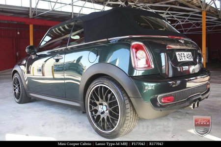 17x7.0 Lenso Type-M - MBJ on MINI COOPER