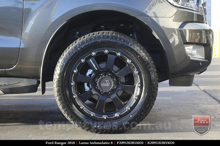20x9.5 Lenso Intimidator 8 IM8 on FORD RANGER