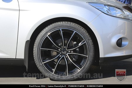 18x8.0 Lenso Eurostyle E ESE on FORD FOCUS