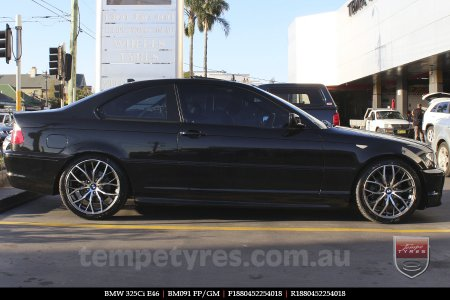 18x8.0 BM091 FP/GM on BMW 325Ci