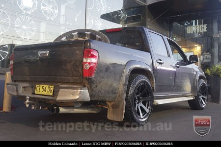 18x9.0 Lenso RTG MBW on HOLDEN COLORADO