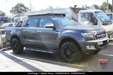 18x9.0 Ballistic Morax on FORD RANGER