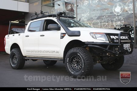 16x8.5 Lenso Max-Monster MBWA on FORD RANGER