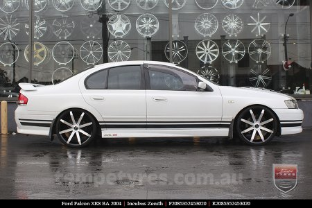 20x8.5 Incubus Zenith - MB on FORD FALCON
