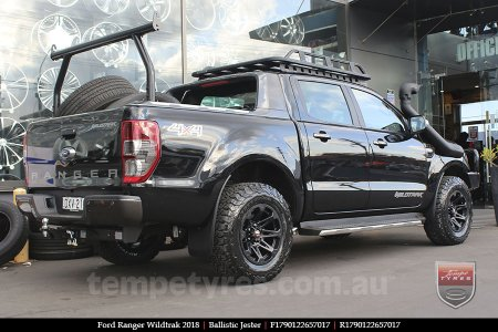 17x9.0 Ballistic Jester on FORD RANGER WILDTRAK