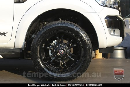 20x9.0 Ballistic Mace on FORD RANGER WILDTRAK