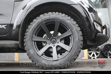 20x9.5 Lenso RTG MBW on FORD RANGER WILDTRAK
