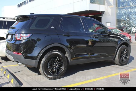 18x8.5 18x9.5 Lenso Spec D MB on LAND ROVER DISCOVERY SPORT