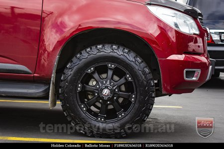 18x9.0 Ballistic Morax on HOLDEN COLORADO