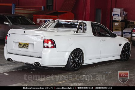 18x8.0 Lenso Eurostyle E ESE on HOLDEN COMMODORE VE