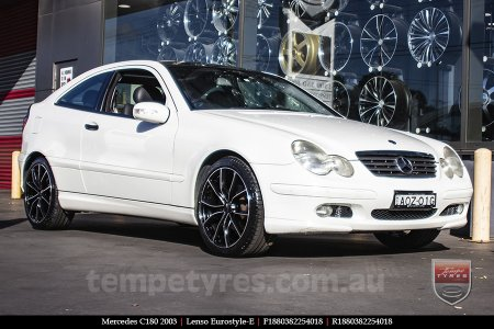18x8.0 Lenso Eurostyle E ESE on MERCEDES C180