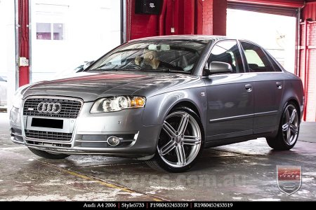 19x8.0 Style5733 on AUDI A4