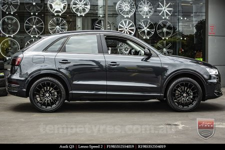 19x8.5 19x9.5 Lenso Speed 2 SP2 on AUDI Q3