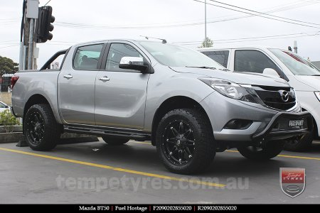 20x9.0 Fuel Hostage on MAZDA BT50