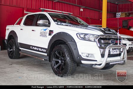 20x9.5 Lenso RTG MBW on FORD RANGER