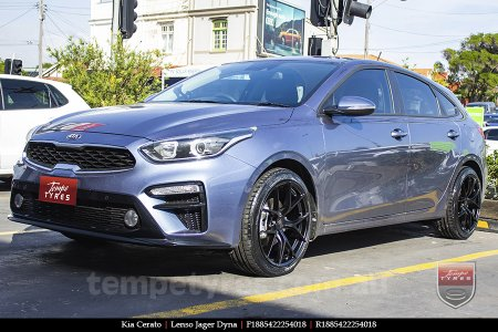 18x8.5 Lenso Jager Dyna on KIA CERATO