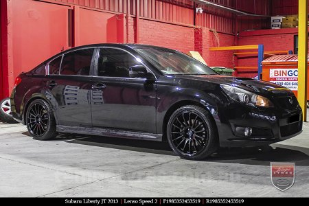 19x8.5 19x9.5 Lenso Speed 2 SP2 on SUBARU LIBERTY