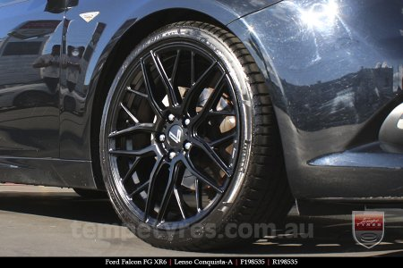 19x8.5 19x9.5 Lenso Conquista A CQA MK  on FORD FALCON FG