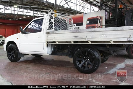 18x9.0 Lenso RTG MBW on HOLDEN RODEO