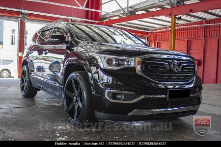 22x9.5 Incubus 842 GB on HOLDEN ACADIA
