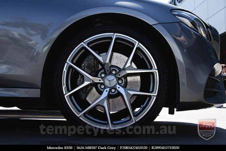 20x8.5 20x9.5 5626 MB507 Dark Grey on MERCEDES E350