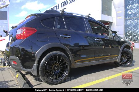 19x8.5 19x9.5 Lenso Speed 2 SP2 on SUBARU XV
