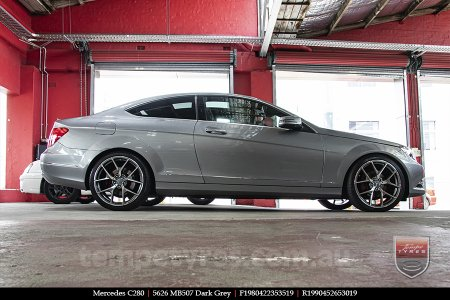 19x8.0 19x9.0 5626 MB507 Dark Grey on MERCEDES C280