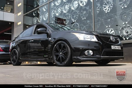 17x7.0 Incubus RS Flawless 0450 on HOLDEN CRUZE