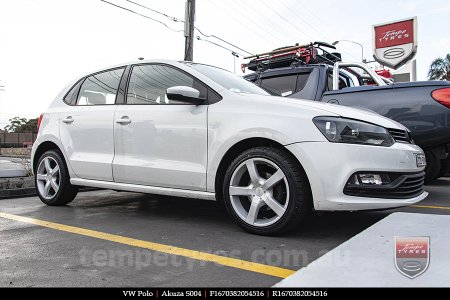 16x7.0 Akuza S004 on VW POLO