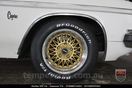 15x8.0 15x10 Simmons V51 GBM on HOLDEN WB UTE