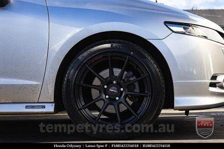 18x8.5 Lenso Spec F MB on HONDA ODYSSEY