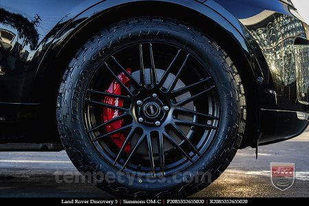 20x8.5 20x10 Simmons OM-C FB on LAND ROVER DISCOVERY 5