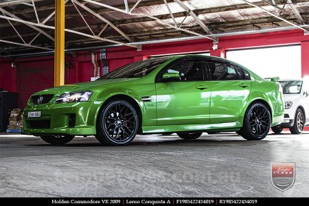19x8.5 19x9.5 Lenso Conquista A CQA MK  on HOLDEN COMMODORE VE