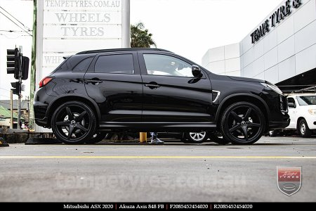20x8.5 Akuza Axis 848 FB on MITSUBISHI ASX