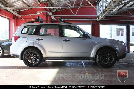 17x7.0 Lenso Type-M - DG on SUBARU FORESTER