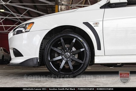 18x8.0 Incubus Zenith - FB on MITSUBISHI LANCER
