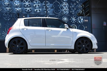17x7.0 Incubus RS Flawless 0450 on SUZUKI SWIFT
