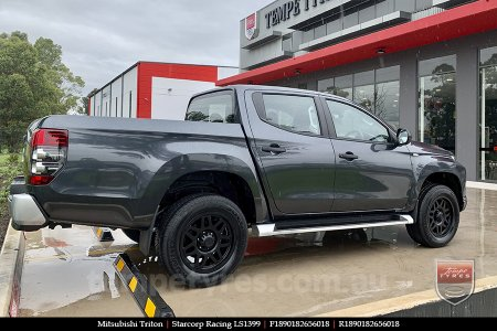 18x9.0 Starcorp Racing LS1399 on MITSUBISHI TRITON