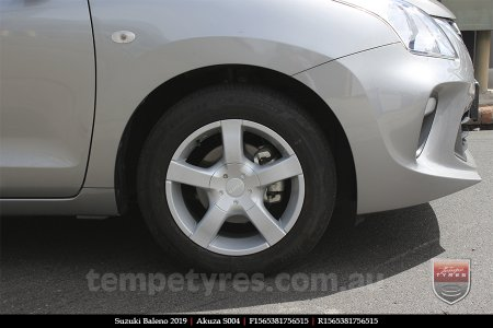 15x6.5 Akuza S004 on SUZUKI BALENO