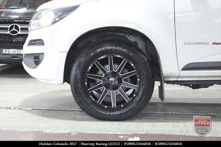 18x9.0 Starcorp Racing LS2112 on HOLDEN COLORADO