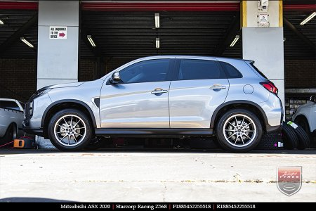 18x8.5 Starcorp Racing Z568 on MITSUBISHI ASX