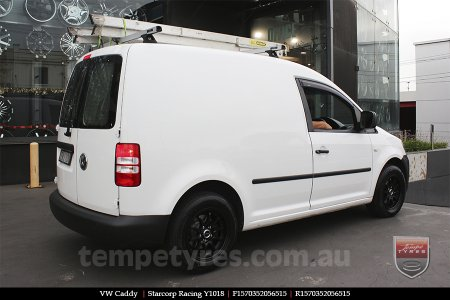 15x7.0 Starcorp Racing Y1018 on VW CADDY