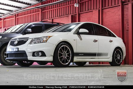 18x8.5 Starcorp Racing Z568 on HOLDEN CRUZE